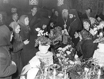 Слово при опелото на Високопреосвещения архиепископ Серафим (Соболев), произнесено от архим. Серафим (Алексиев)